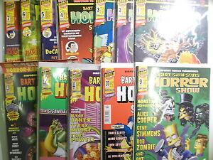 Auswahl-BART-SIMPSONS-HORROR-SHOW-ab-Heft-1-Dino-Panini