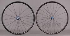 Black H + Plus Son Archetype Rims White Industries T11 Hubs Road Bike Wheelset