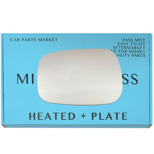 plate Left side Wing mirror glass for Nissan Kubistar 2003-2008 Heated
