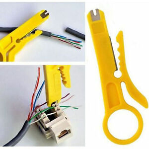 Marvelous 1X Network Connection Wire Punch Down Cutter Stripper For Rj45 Cat5 Wiring Database Hyediarchgelartorg