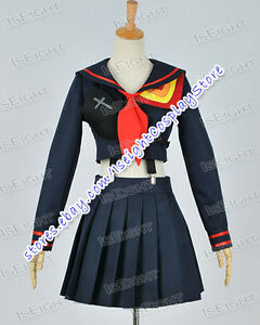 Delightful Image Is Loading Kill La Kill Cosplay Ryuko Matoi Costume Navy