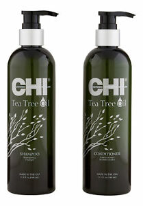 CHI Tea Tree Oil Shampoo & Conditioner 12 oz. Hair Care Set