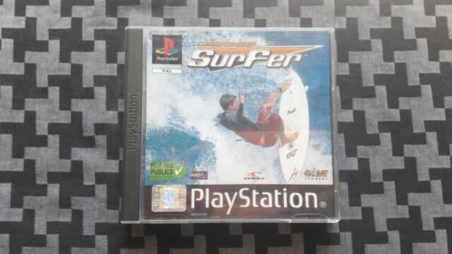 Championship Surfer sur ps1, VF, complet en très bon état