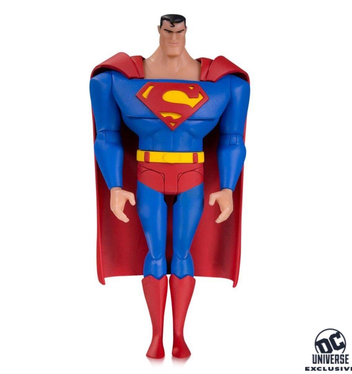 Exklusive gerechtigkeitsliga animierte superman - figur pre - order