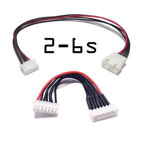 2-6s Rallonge JST prise Equilibrage Batterie LIPO Balance plug Cable 2S 3S 4S 6S QZuj9k0z-08122821-329920160