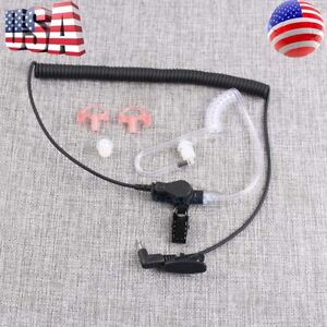 2-5mm-Earpiece-Headset-W-Coiled-Tube-For-Harris-Police-Radio-XG25-XG75-P7300-US