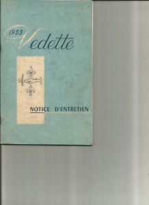 FORD-VEDETTE-1953-notice-entretien-conduite-utilisation-carnet