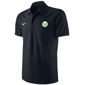 UFFICIALE Calcio Wolfsburg MEN'S Nike Authentic Polo-Blu  </span>