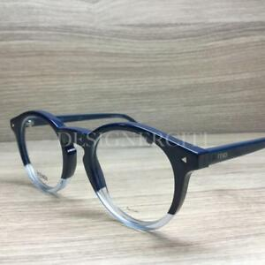 ed90cb73905e Image is loading Fendi-FF-0236-Eyeglasses-Blue-Gradient-PJP-Authentic-