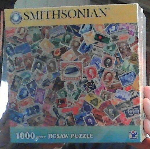 Smithsonian U.S. Postage Historical Stamp Collection 1000 pieces Jigsaw Puzzle