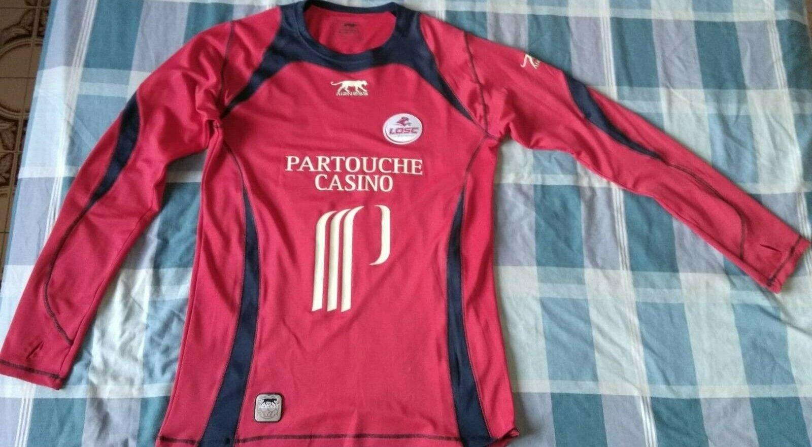 Camiseta Maillot Shirt LOSC LILLE Airness Season 2006 Diuominiione XXL lungo sleeve