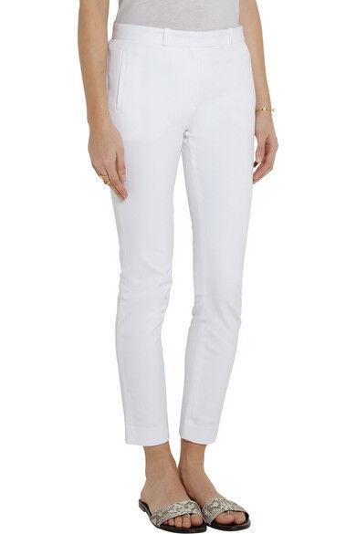 JOSEPH Eliston stretch-gabardine skinny Weiß pants trousers Größe F F F 34 UK 6 US 2 faafb1