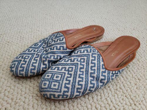 Anthropologie Ramon Tenza Slide Slip on Flats Loaf