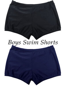 fd8b1babf4 Boys Plain Swimming Swim Short Shorts School Leisure 4-13 Yrs BT3157 ...