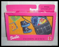 1999 Mattel Barbie Doll Fashion Avenue Cool Rules Clothing Accessory Items