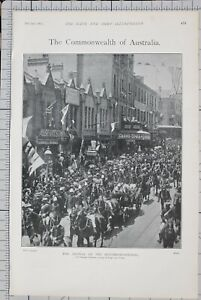 1901-PRINT-ARRIVAL-OF-THE-GOVERNOR-GENERAL-VICEREGAL-PROCESSION-SYDNEY