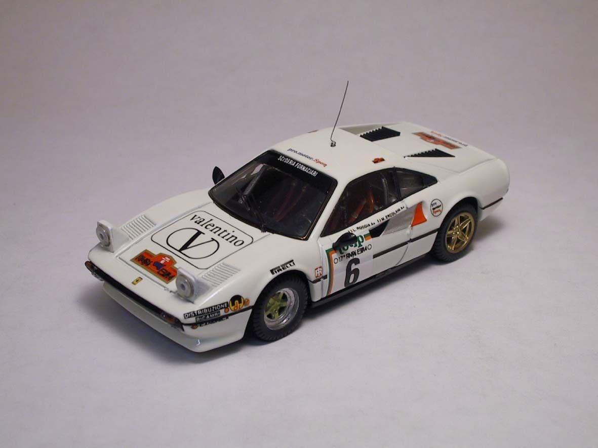 venta al por mayor barato Ferrari 308 GTB  6 6th rally elba 1985 1985 1985 Ercolani roggia 1 43 Model Best Models  venta con alto descuento