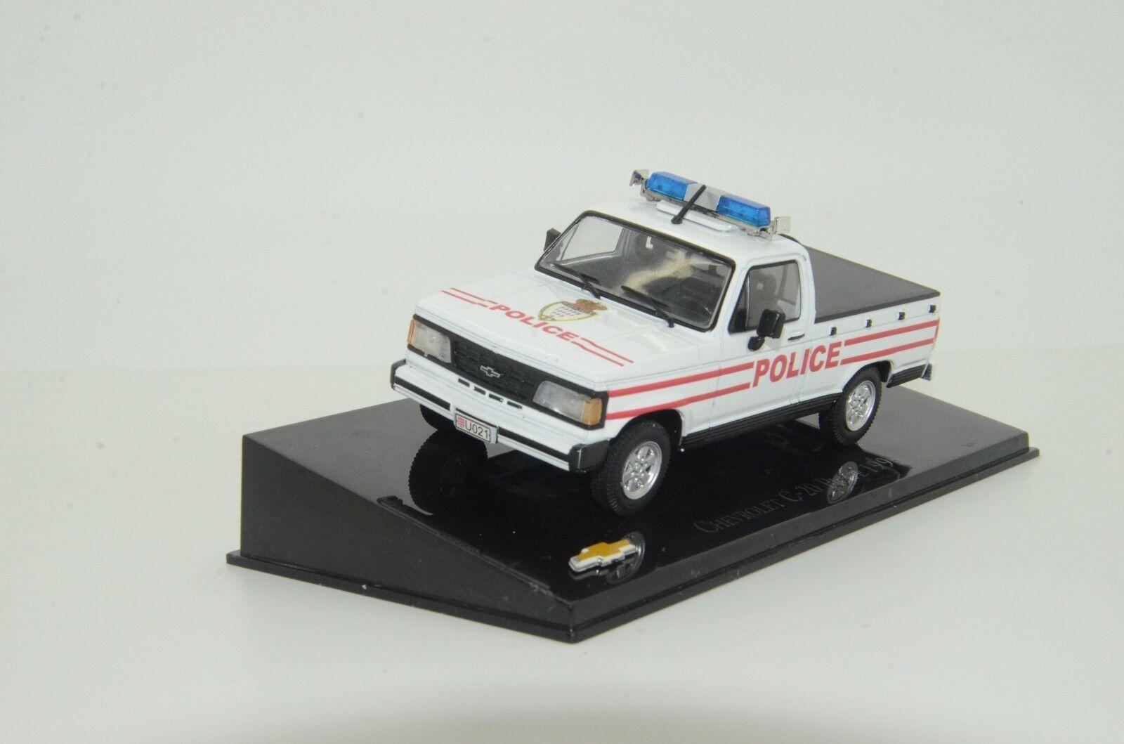 Sällsynt Chevrolet C -20 Monacos polisbil Tillverkad 1  43