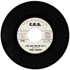 "BONNIE BLANCHARD  ""A REAL GOOD LOVIN MAN (Part 1)""  70's NORTHERN SOUL  LISTEN!"