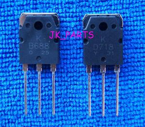 2pair 2SB688 /& 2SD718 SANKEN Transistor D718 /& B688 NEW