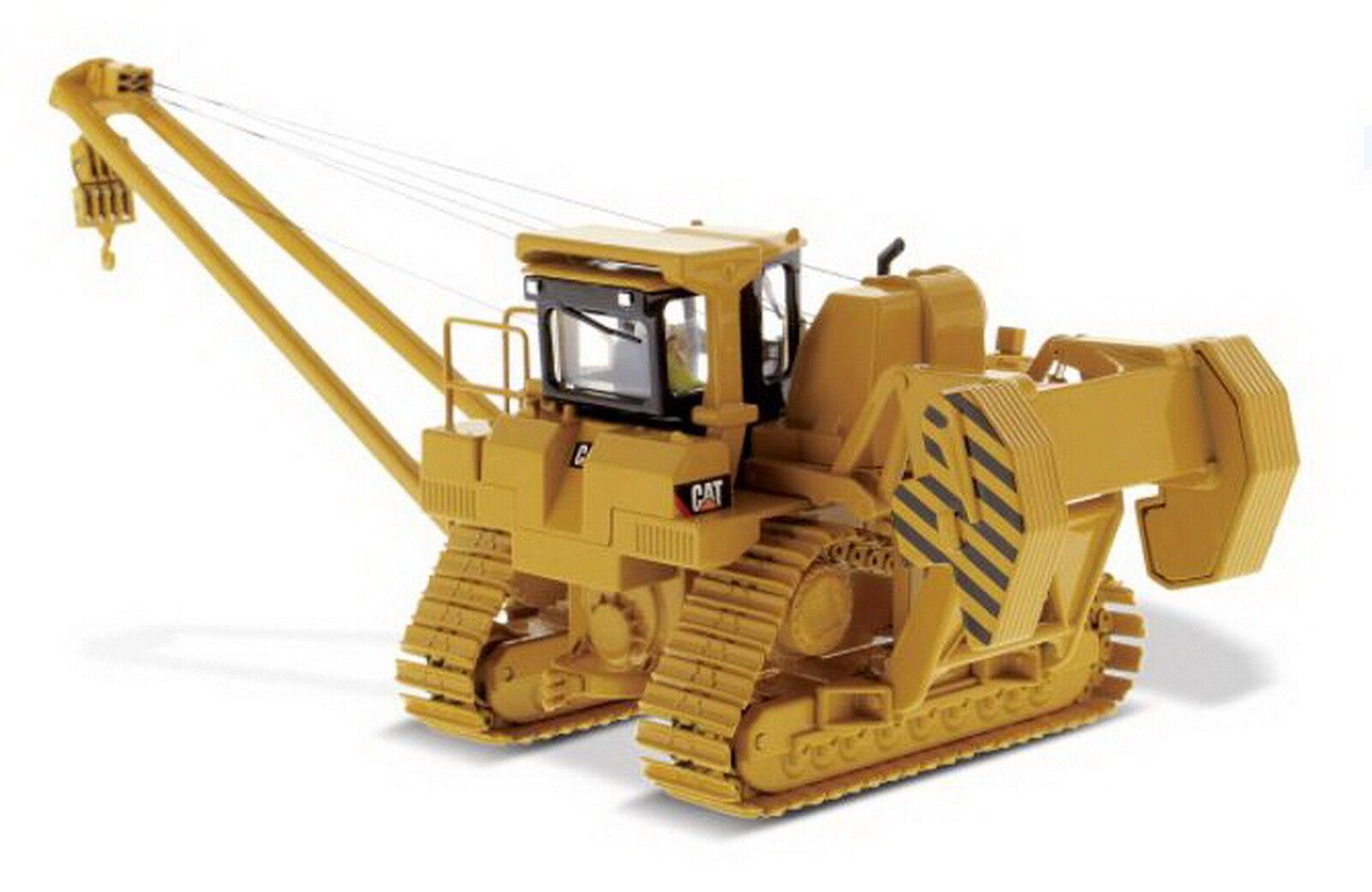 1 50 DM Caterpillar Cat 587T Pipelayer Diecast Model