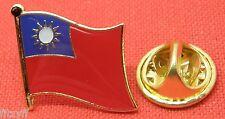 Taiwan Country Flag Lapel Hat Cap Tie Pin Badge pinyin Republic of China