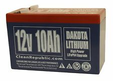 12 V 10 Ah LiFePO4 Battery - Lithium (BULK OF THREE, make a 36 V Battery!)