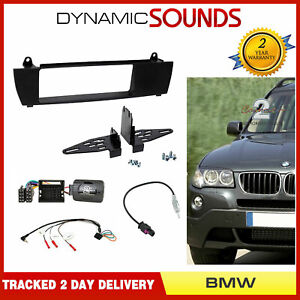 CTKBM06-Car-CD-Stereo-Fascia-Steering-Antenna-Fitting-Kit-For-BMW-X3-E83