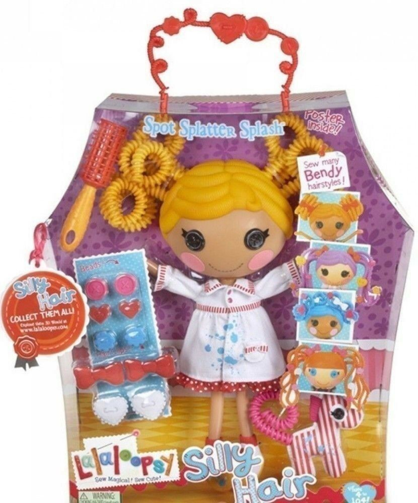 LALALOOPSY SILLY HAIR SPOT SPLATTER SPLASH BY MGA Entertainment **MIB**