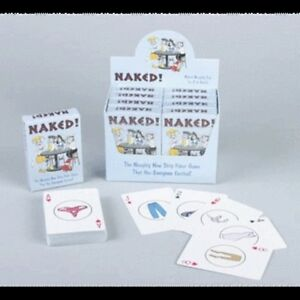 naked naughty strip poker card game playing cards joke adult party deck
