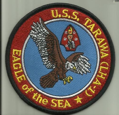 """USS TARAWA LHA-1 US.NAVY PATCH 4/""""  amphibious assault ship SAILOR SOLDIER USA"""