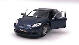 Porsche-Modele-avec-Wunschkennzeichen-Panamera-S-BLEU-Masstab-1-3-4-39