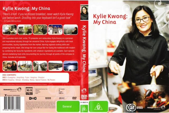 ~~Kylie Kwong : My China~~ Genuine R4 Rare 2 Disc Set Free Post