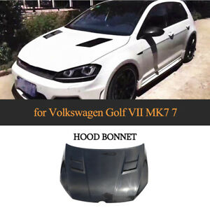 Carbon-Motorhaube-Haube-Engine-Bonnet-Hood-Passt-fuer-VW-Golf-7-MK7-GTI-R-2014-17