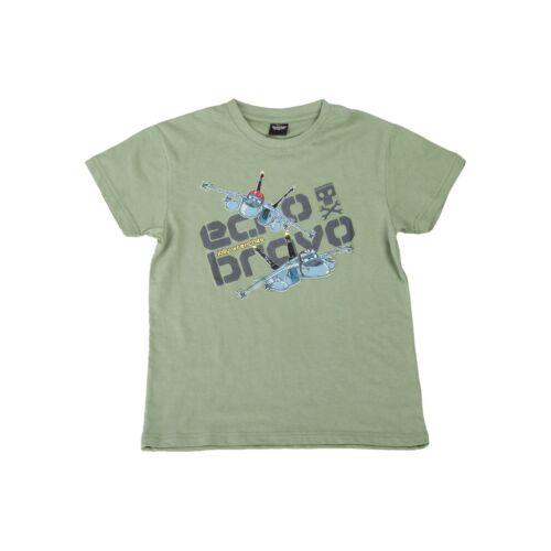 """Disney Planes Novelty /""""ECHO /& BRAVO/"""" Kid/'s Pressed T-Shirt Size 3//5 6//8 10//12"""