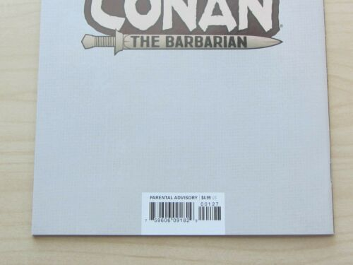 Details about  /Conan the Barbarian #1 Exclusive Lucio Parrillo Variant Trade Dress NM