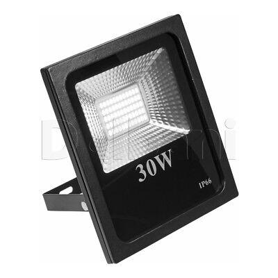 Unter Der Voraussetzung 30w Hochwertiger Smd Außen Led Flutlicht 6000k Tageslicht Ip65 Black Wasserdicht Garten & Terrasse Beleuchtung