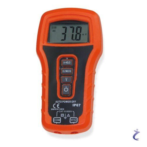 Digital Multimeter CTM-25 Auto Range 600V Profi Voltmeter Amperemeter wetterfest