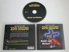 GEISTERJÄGER JOHN SINCLAIR/82/MACHT UND MYTHOS(TONPOOL/LÜBBE AUDIO)/