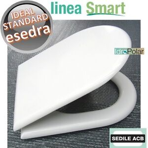 NUOVO-SEDILE-ASSE-WC-ESEDRA-IDEAL-STANDARD-MARCA-ACB-ERCOS-SMART-COPRIWC-BIANCO