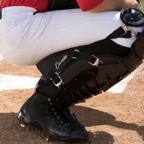 Champion Sports Baseball//Softball Adult Catcher/'s Genou épargnants//Support Pads