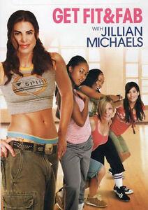 Cardio-Hip-Hop-Dance-EXERCISE-DVD-Jillian-Michaels-Get-Fit-and-Fab