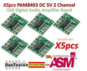 5pcs-PAM8403-Audio-Module-Class-D-Digital-Amplifier-Board-2-5-to-5V-USB-Power