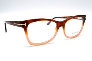 NEW-TOM-FORD-TF5424-056-HAVANA-AUTHENTIC-EYEGLASSES-FRAME-RX-53-15-W-CASE-13T