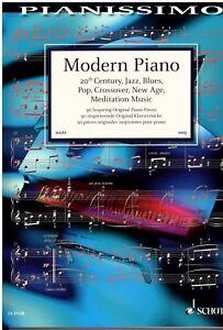 Klavier-Noten-MODERN-PIANO-90-Original-Klavierstuecke-leichte-Mittelstufe