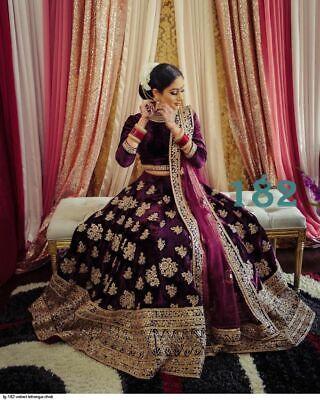 Sequin Work Silk Yellow Lehenga Choli Indian Party Wear Lengha Chunri Skirt Top