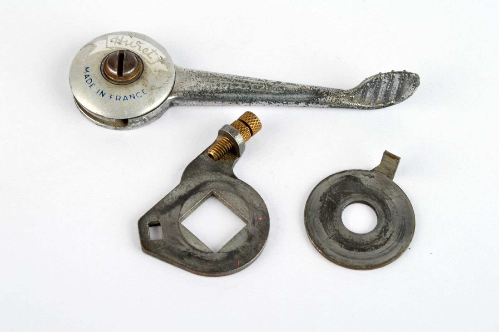 Single Huret braze-on shifter from the 1960s