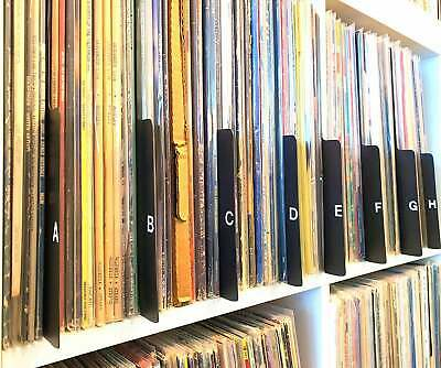 A through Z Combo premium wood record dividers set of 13 Free shipping