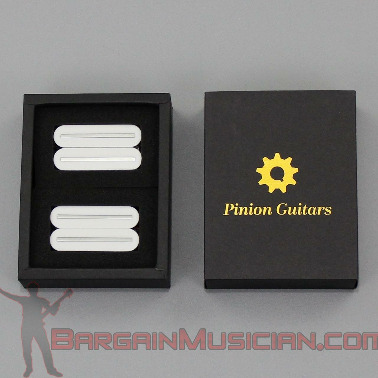 Pinion Guitars - HA1-WH - Premium Rail Humbucker Electric Guitar Pickup Set
