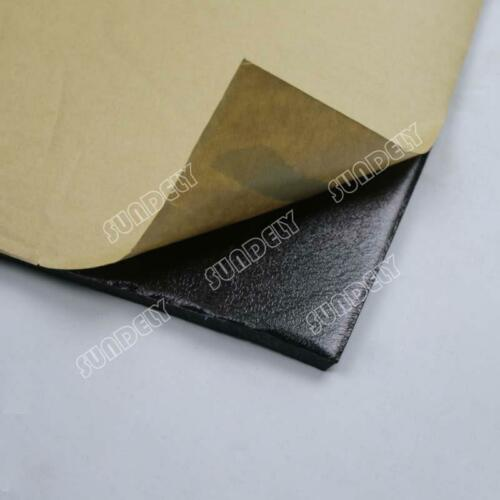 NEW 8Sheet Self Adhesive Closed Cell Foam 10mm Car Sound Proofing Insulation